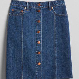 Gap Premium Denim Jean Skirt - Sz 27
